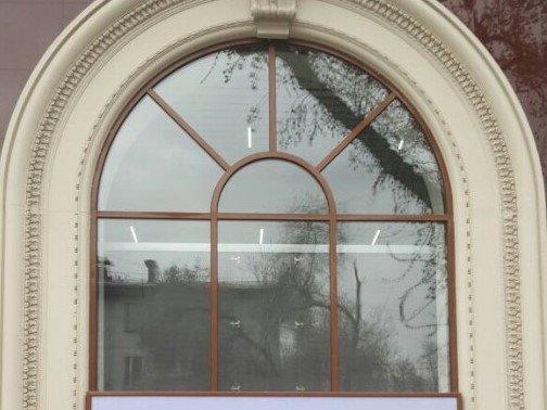 Окна с элементами дизайна