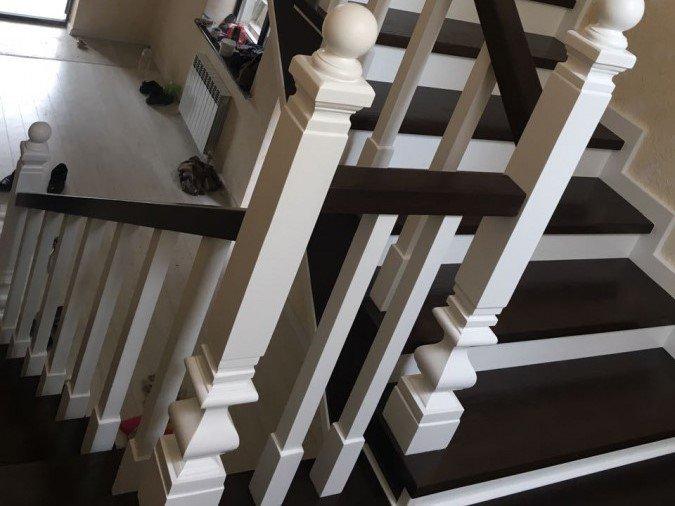 Лестницы из массива Карагач