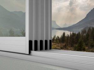 Устойчивая раздвижная стальная стеклянная баллонная система