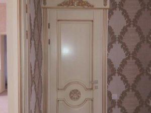 Межкомнатная дверь, массив сосна