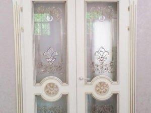 Дверь классическая Д-2 под покраску из карагача