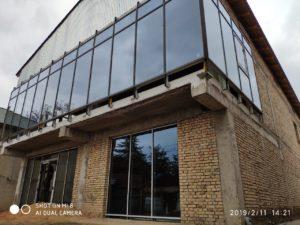 Мультифункциональные стекла фасадной системы terminal